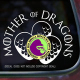 Game of Thrones - MOTHER OF DRAGONS Vinyl Decal Sticker