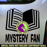 MYSTERY FAN Vinyl Decal Sticker