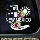 NEW MEXICO STATE Vinyl Decal Sticker