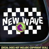 NEW WAVE Vinyl Decal Sticker