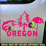 OREGON STATE Vinyl Decal Sticker