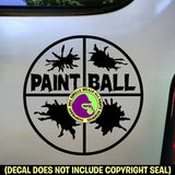 PAINTBALL Vinyl Decal Sticker