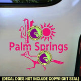 California - PALM SPRINGS Vinyl Decal Sticker