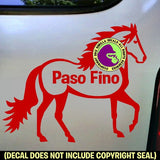 PASO FINO - PASO FINO BODY Vinyl Decal Sticker