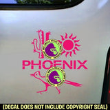 Arizona State - PHOENIX Vinyl Decal Sticker