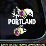 Oregon State - PORTLAND Vinyl Decal Sticker