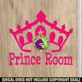 PRINCE ROOM Vinyl Decal Sticker