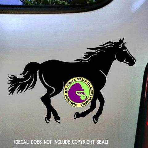 BIG HORSE #2 Running Vinyl Decal Sticker
