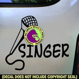 SINGER Vinyl Decal Sticker