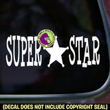 SUPER STAR Vinyl Decal Sticker
