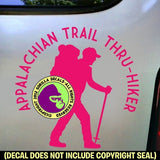 APPALACHIAN TRAIL THRU HIKER Vinyl Decal Sticker