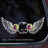 Wings Baby Vinyl Decal Sticker