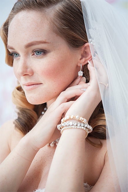 butterfly garden glam - wedding jewelry and accessory rentals