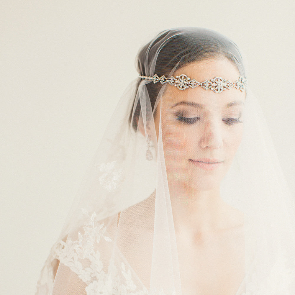 Bridal - Luna Hairpiece