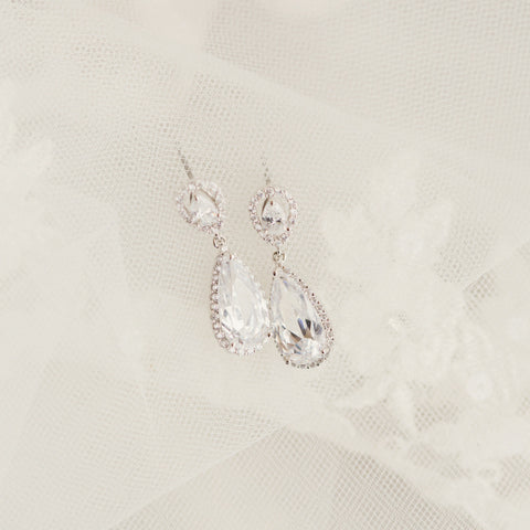 Bridal - Malamute Earrings