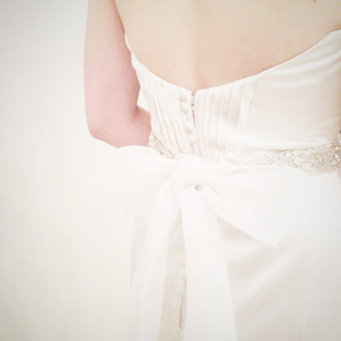 Bridal - Rose Bud Belt
