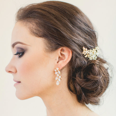 Bridal - Blossom Earrings