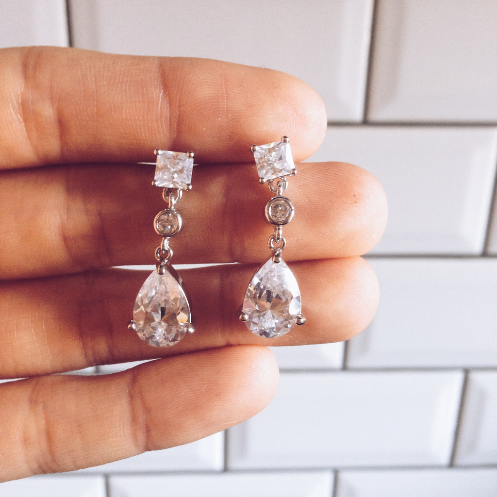 Bridal - Bluebell Earrings