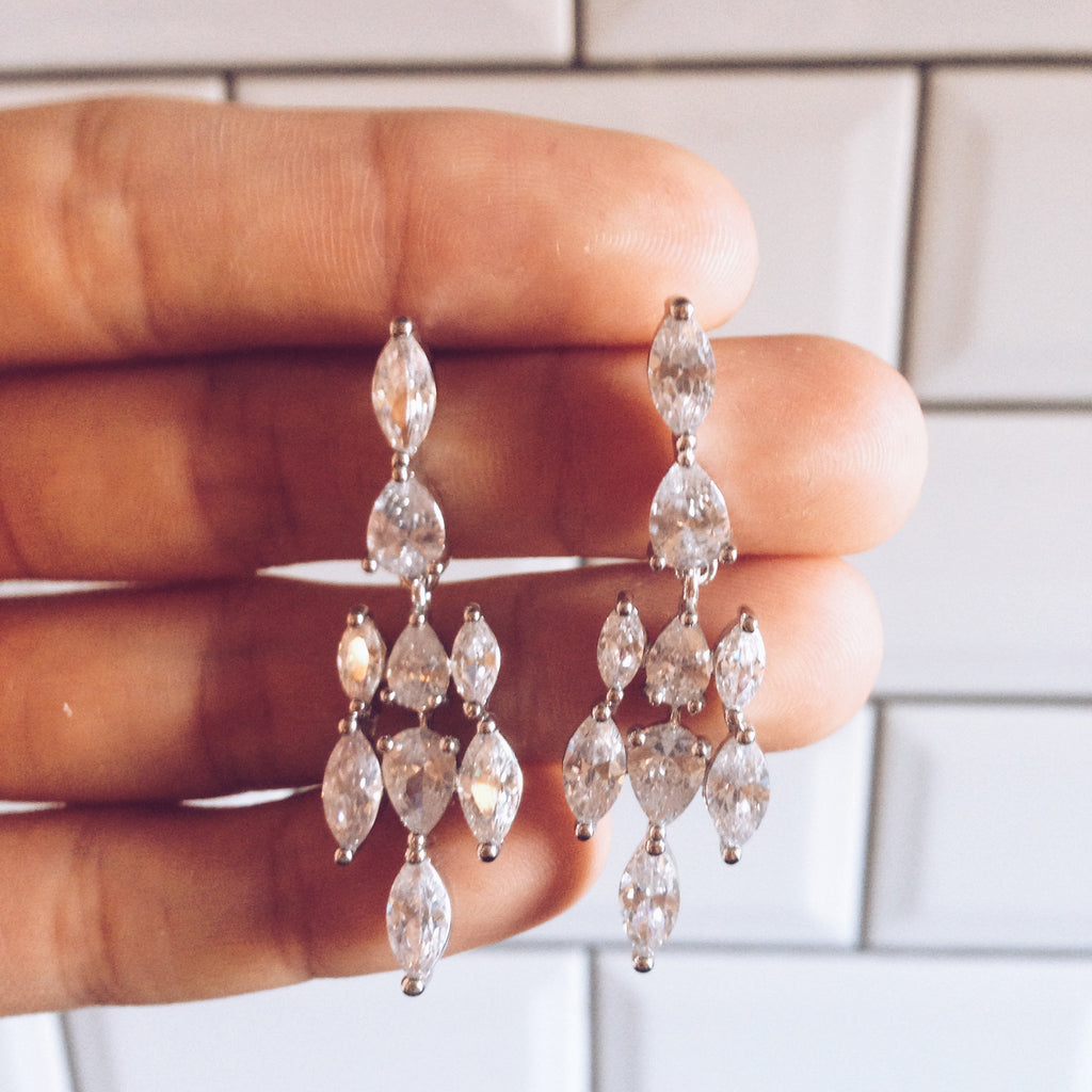 Bridal - Sweetpea Earrings