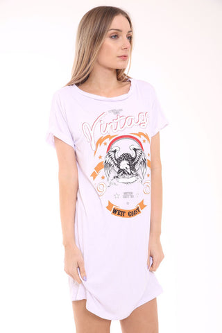 Vintage Baggy Oversized T-Shirt White