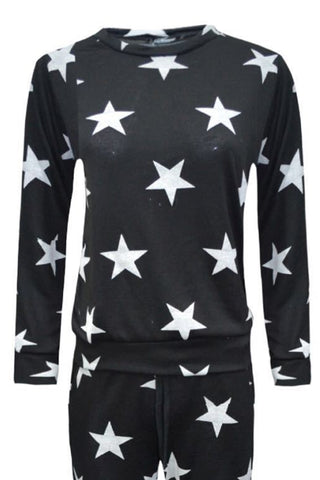 Little MT Star Top Black