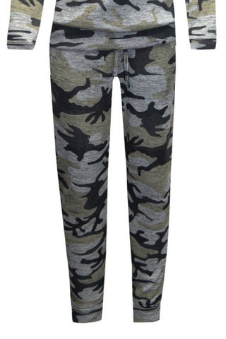 Little MT Joggers Camo
