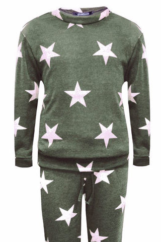 Little MT Star Top Khaki