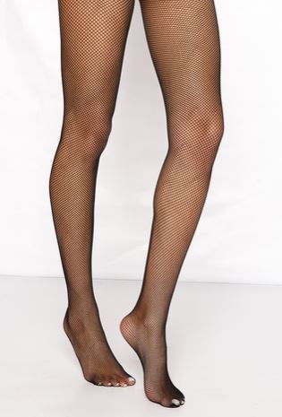 Candice Fishnet Tights Black