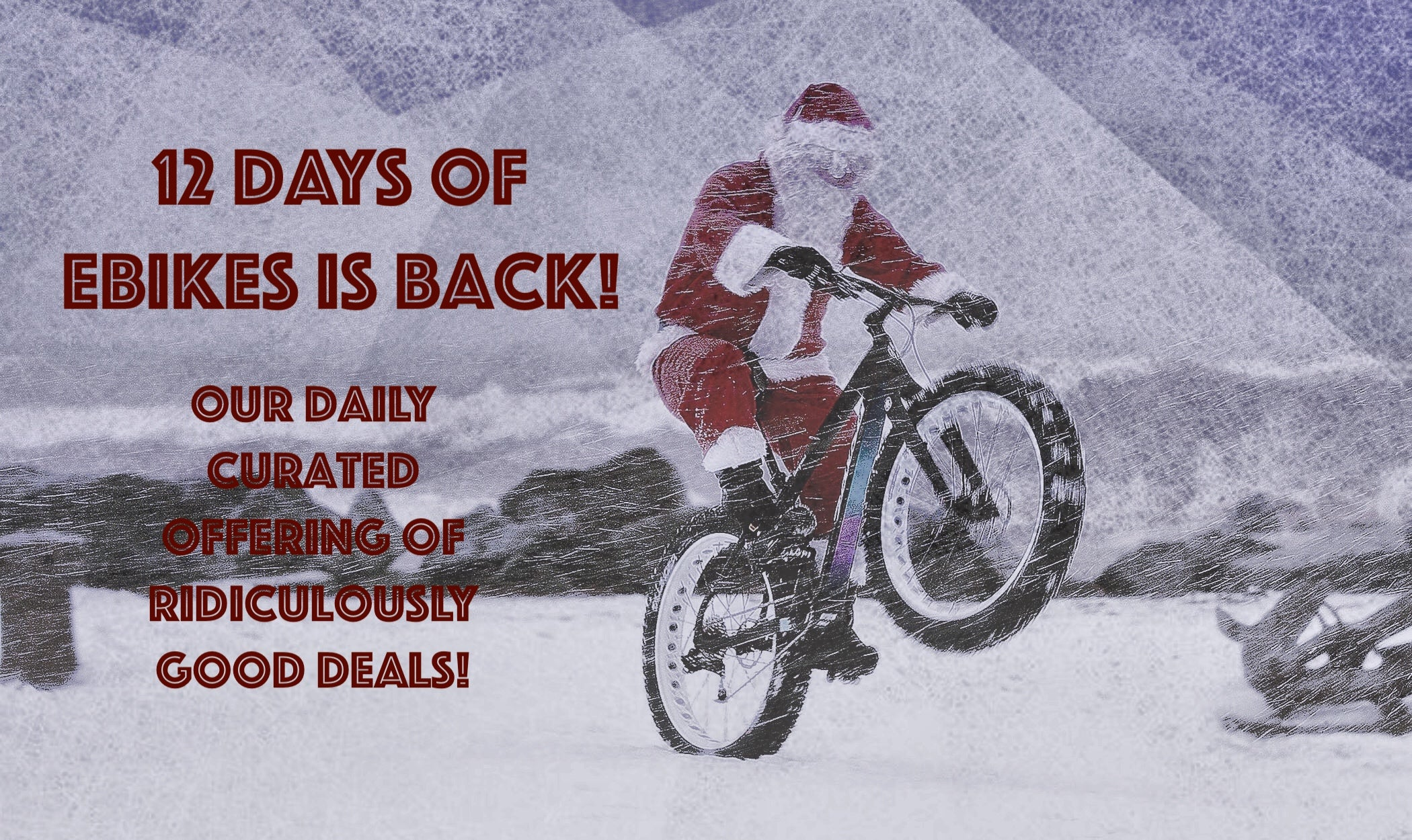electric bikes on sale this Christmas