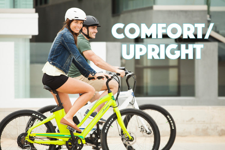 Comfort/Upright Electric Bikes collection