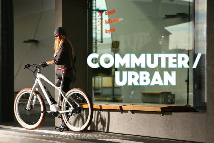 Commuter/Urban Electric Bikes collection