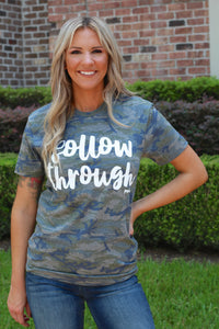 Follow Through Camo Tee