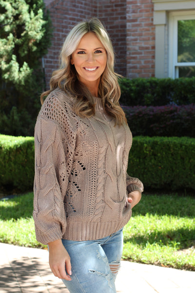 Toffee Bliss Sweater
