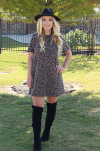 Zion Leopard Dress