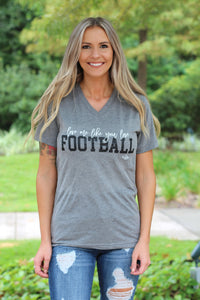 Love Me like Football Tee