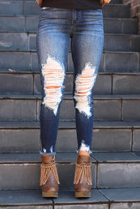 Carmen Distressed Skinnies