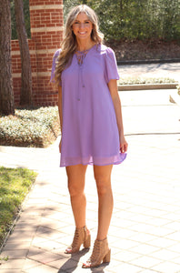 St. Lucia Lilac Dress