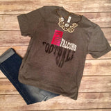 Huffman Falcons Football Tee