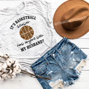 Basketball/Husband Tee