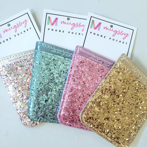 Glitter Phone Pocket