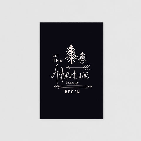 JOURNAL ( A5 ) - LET THE ADVENTURE BEGIN