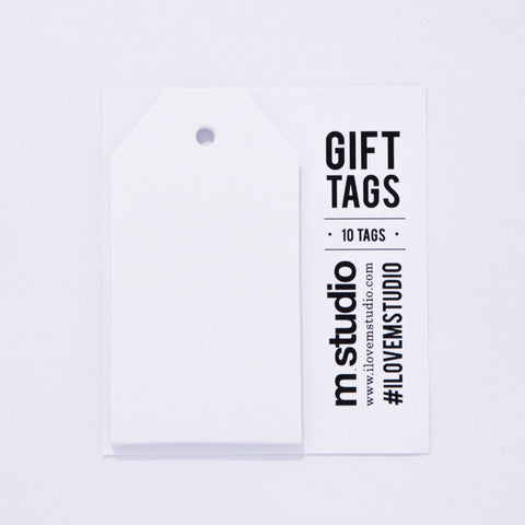 TAGS - GIFT WHITE