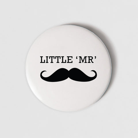 BADGE (PIN)  - LITTLE MISTER