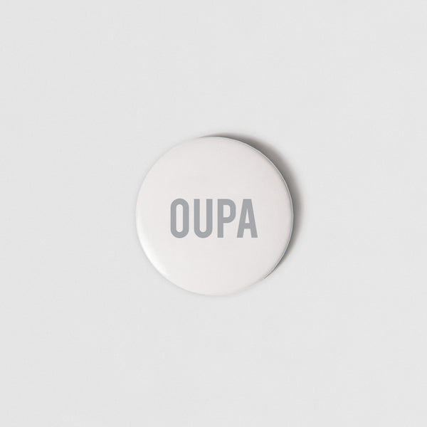 BADGE (SMALL + PIN) - OUPA