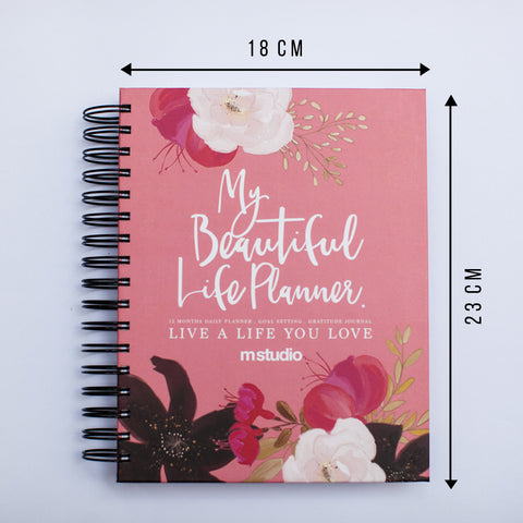 MY BEAUTIFUL LIFE PLANNER - PINK FLORAL