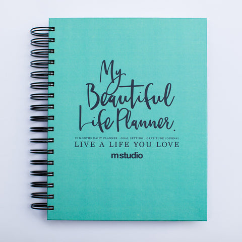 MY BEAUTIFUL LIFE PLANNER - TURQUOISE