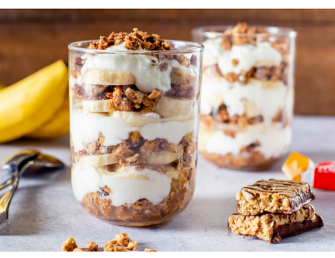Banana Yogurt Parfait