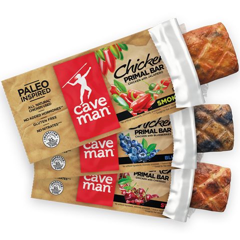 Caveman Foods Introduces The First Chicken Protein Bar The Chicken P