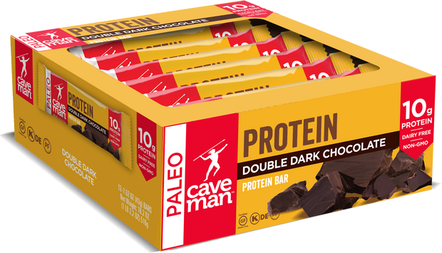 Snack better with 12 count box of clean protein bars.