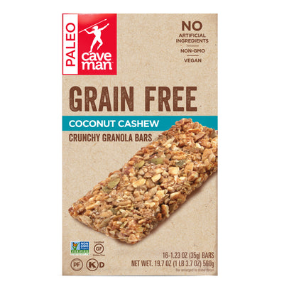 Coconut Cashew Grain Free Granola Bars - 16ct